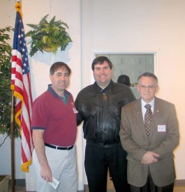 GK Mike Covais (L), Tony Rossi, and John Rossi