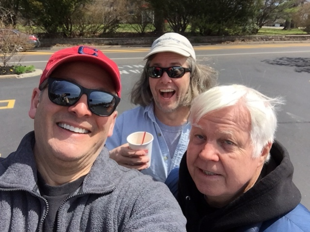 Deputy Grand Knight Anthony Rosato, Tim Young and Stan Lazar helped clean up DeKalb Pike on Saturday, April 21st.